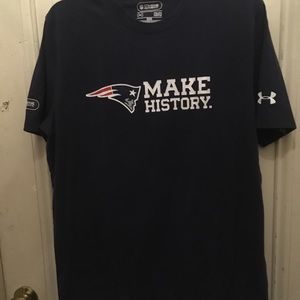 Men's Under Armour New England Patriots tee shirt